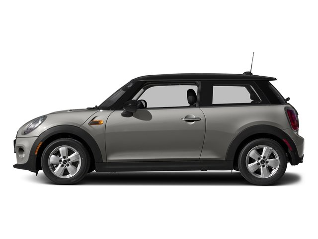 Melting Silver Metallic 2017 MINI Hardtop 2 Door Pictures Hardtop 2 Door Cooper FWD photos side view
