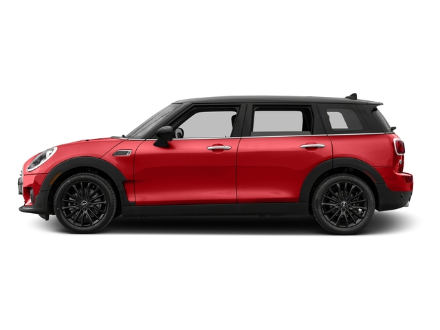 Chili Red 2017 MINI Clubman Pictures Clubman Wagon 4D Clubman I3 Turbo photos side view