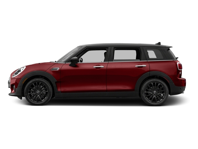 Blazing Red Metallic 2017 MINI Clubman Pictures Clubman Wagon 4D Clubman I3 Turbo photos side view