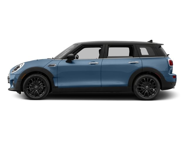 Digital Blue Metallic 2017 MINI Clubman Pictures Clubman Wagon 4D Clubman I3 Turbo photos side view