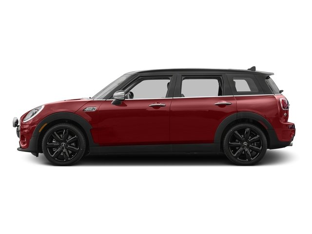 Blazing Red Metallic 2017 MINI Clubman Pictures Clubman Wagon 4D Clubman S AWD I4 Turbo photos side view
