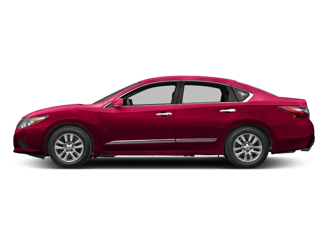 Scarlet Ember 2017 Nissan Altima Pictures Altima 2.5 SV Sedan photos side view