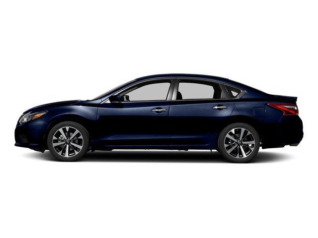 Deep Blue Pearl 2017 Nissan Altima Pictures Altima Sedan 4D SR I4 photos side view