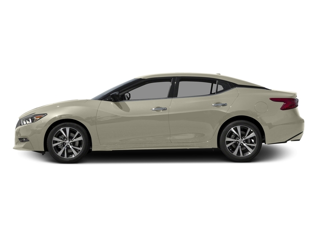 Pearl White 2017 Nissan Maxima Pictures Maxima Sedan 4D SV V6 photos side view