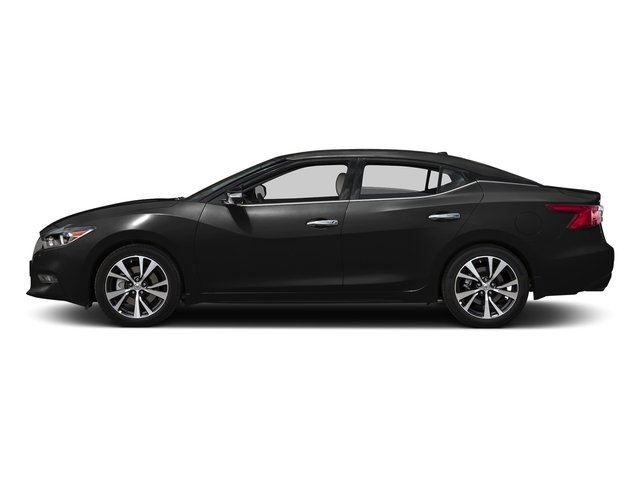 Super Black 2017 Nissan Maxima Pictures Sedan 4d Platinum V6 Photos Side View