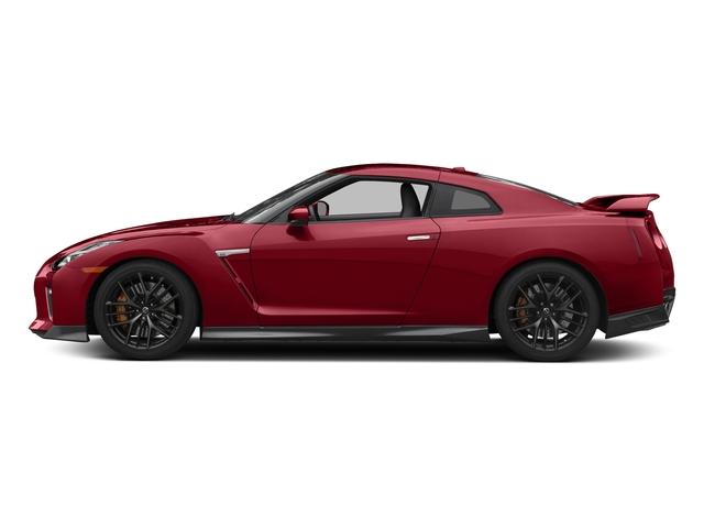 Solid Red 2017 Nissan GT-R Pictures GT-R Coupe 2D Track Edition AWD V6 Turbo photos side view