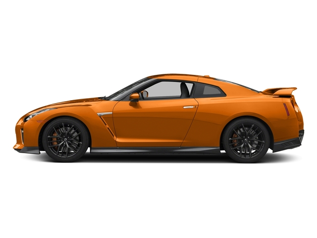 Blaze Metallic 2017 Nissan GT-R Pictures GT-R Coupe 2D Track Edition AWD V6 Turbo photos side view