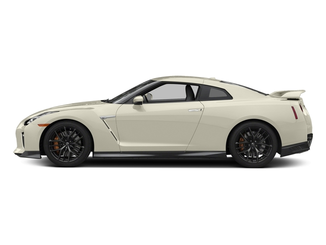 Pearl White 2017 Nissan GT-R Pictures GT-R Coupe 2D Track Edition AWD V6 Turbo photos side view