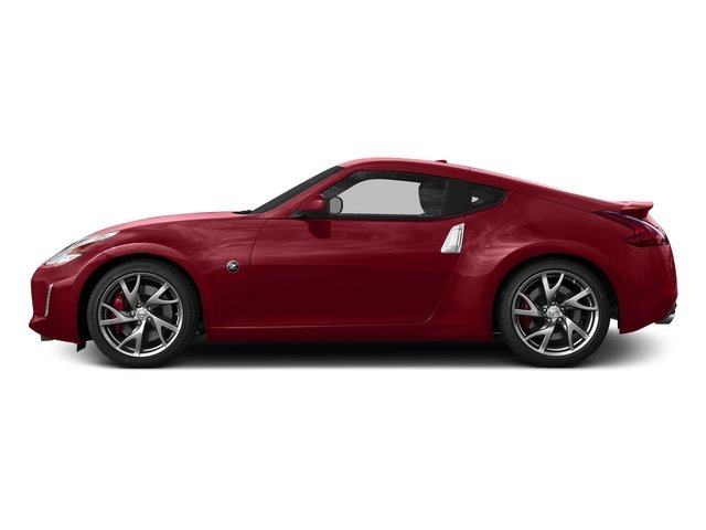 Solid Red 2017 Nissan 370Z Pictures 370Z Coupe Touring Manual photos side view