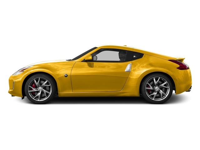 Chicane Yellow 2017 Nissan 370Z Pictures 370Z Coupe Touring Manual photos side view