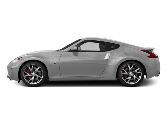 Brilliant Silver 2017 Nissan 370Z Pictures 370Z Coupe Touring Manual photos side view