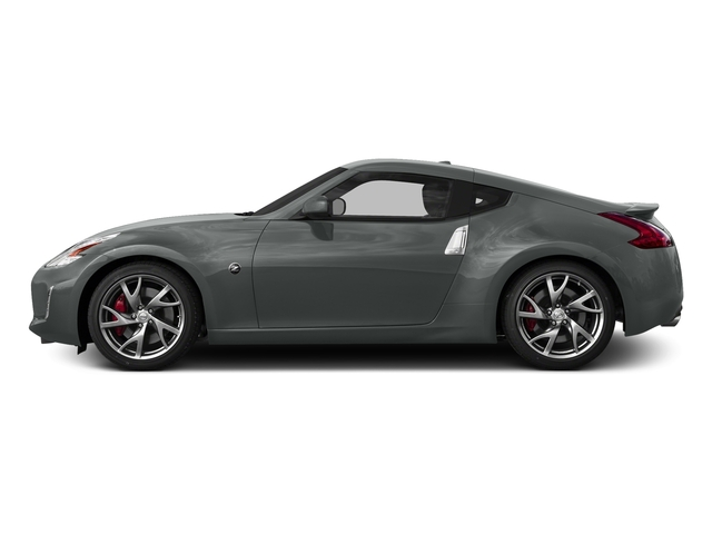 Gun Metallic 2017 Nissan 370Z Pictures 370Z Coupe Touring Manual photos side view