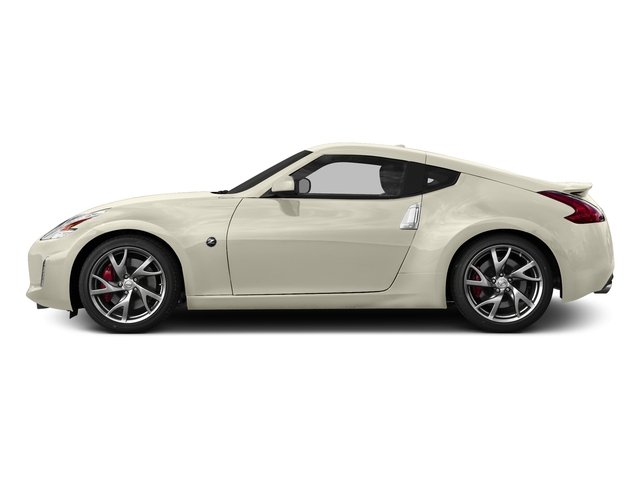 Pearl White 2017 Nissan 370Z Pictures 370Z Coupe Touring Manual photos side view