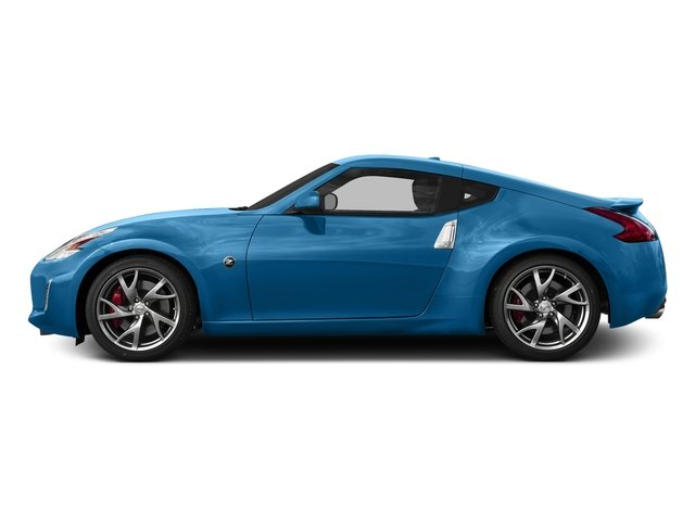Deep Blue Pearl 2017 Nissan 370Z Pictures 370Z Coupe Sport Auto photos side view