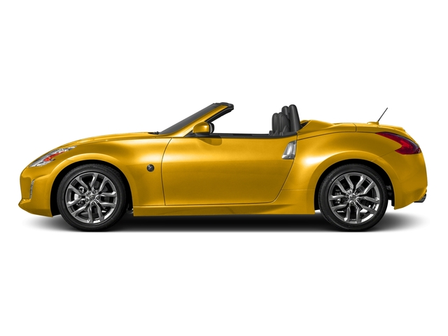 Chicane Yellow 2017 Nissan 370Z Pictures 370Z Roadster Touring Sport Auto photos side view