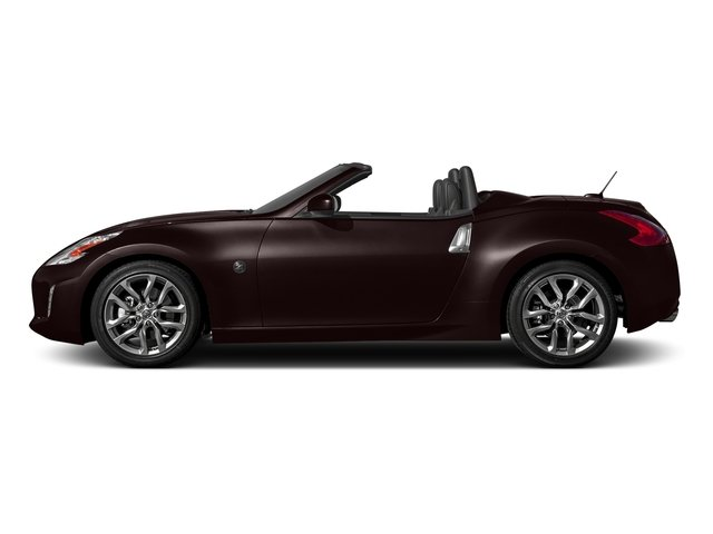 Black Cherry 2017 Nissan 370Z Pictures 370Z Roadster Touring Sport Auto photos side view