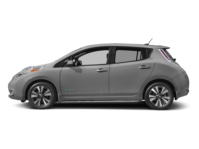 Brilliant Silver 2017 Nissan LEAF Pictures LEAF SV Hatchback photos side view