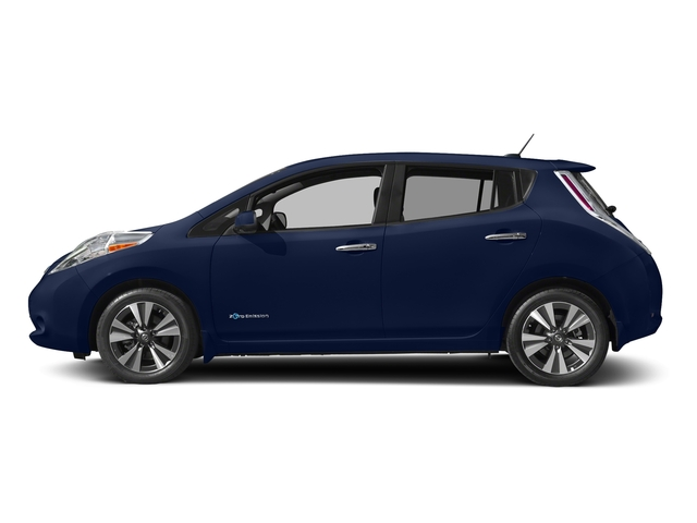 Deep Blue Pearl 2017 Nissan LEAF Pictures LEAF SV Hatchback photos side view