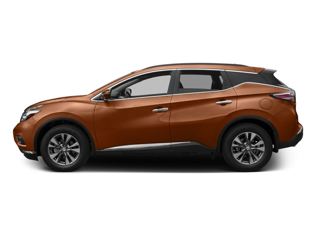 Pacific Sunset Metallic 2017 Nissan Murano Pictures Murano Utility 4D SV 2WD V6 photos side view
