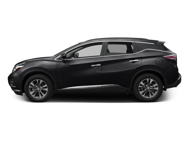 Magnetic Black Metallic 2017 Nissan Murano Pictures Murano Utility 4D SV 2WD V6 photos side view