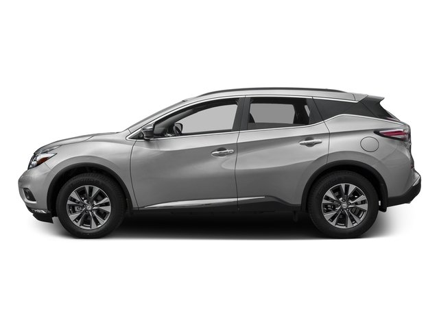 Brilliant Silver Metallic 2017 Nissan Murano Pictures Murano Utility 4D SV 2WD V6 photos side view