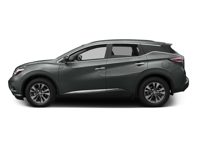 Gun Metallic 2017 Nissan Murano Pictures Murano 2017.5 FWD SV photos side view