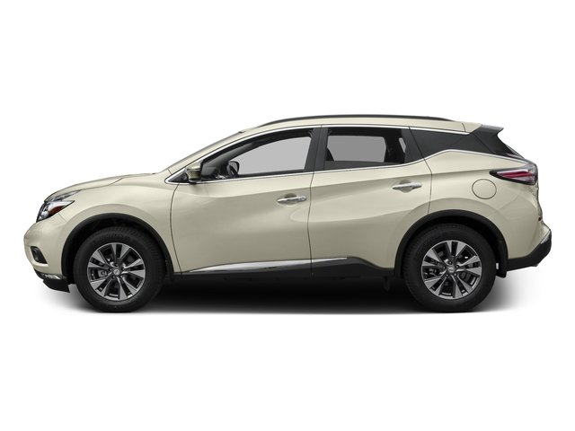 Pearl White 2017 Nissan Murano Pictures Murano 2017.5 FWD S photos side view