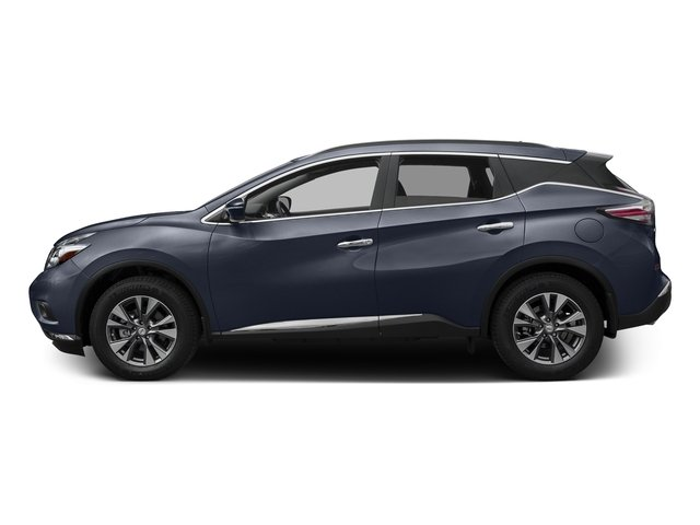 Arctic Blue Metallic 2017 Nissan Murano Pictures Murano Utility 4D SV 2WD V6 photos side view