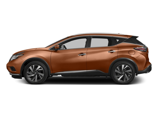 Pacific Sunset Metallic 2017 Nissan Murano Pictures Murano 2017.5 AWD Platinum photos side view