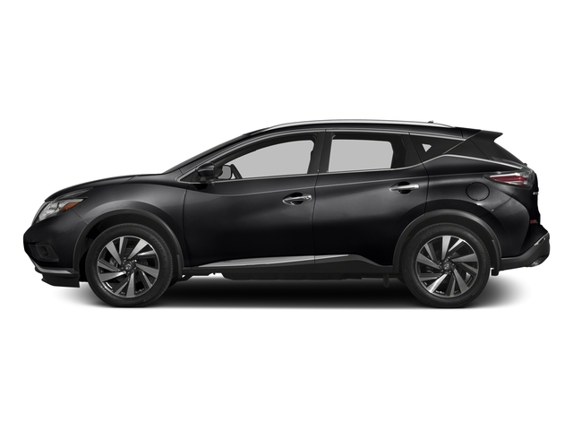 Magnetic Black Metallic 2017 Nissan Murano Pictures Murano 2017.5 FWD Platinum photos side view