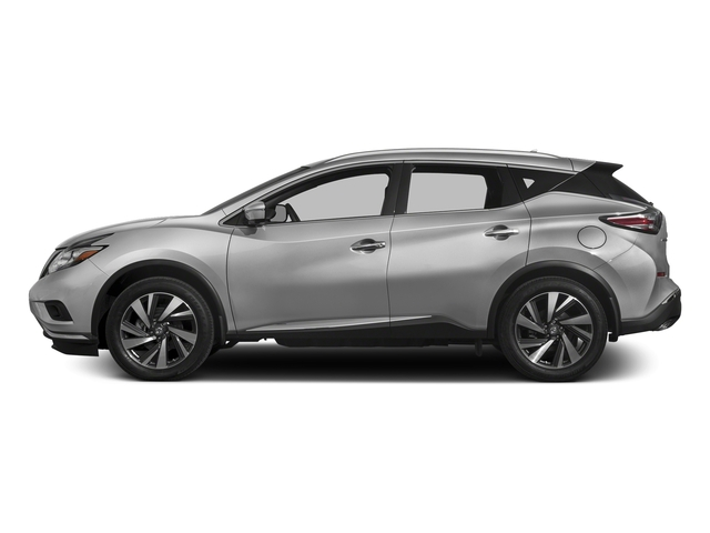 Brilliant Silver Metallic 2017 Nissan Murano Pictures Murano 2017.5 AWD Platinum photos side view