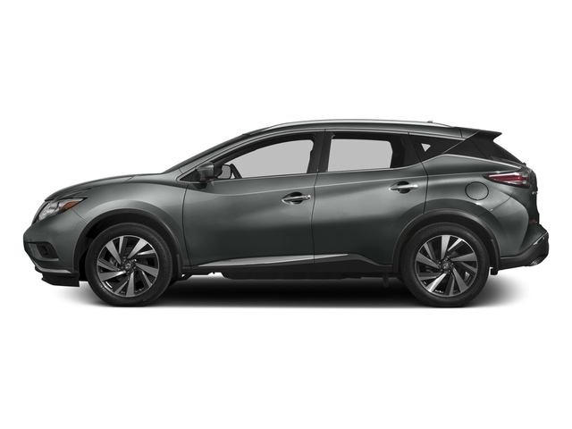 Gun Metallic 2017 Nissan Murano Pictures Murano 2017.5 FWD Platinum photos side view