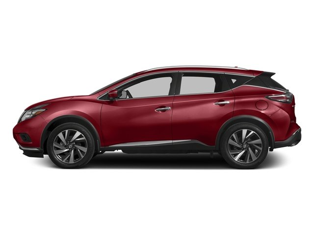 Cayenne Red Metallic 2017 Nissan Murano Pictures Murano 2017.5 FWD Platinum photos side view