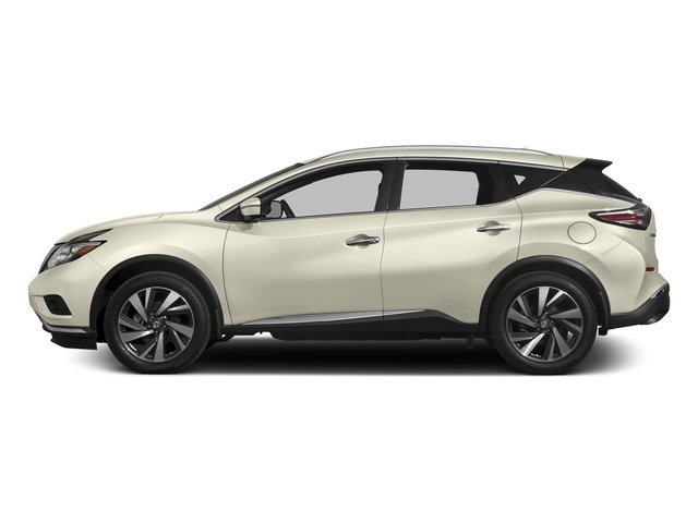 Pearl White 2017 Nissan Murano Pictures Murano 2017.5 FWD Platinum photos side view
