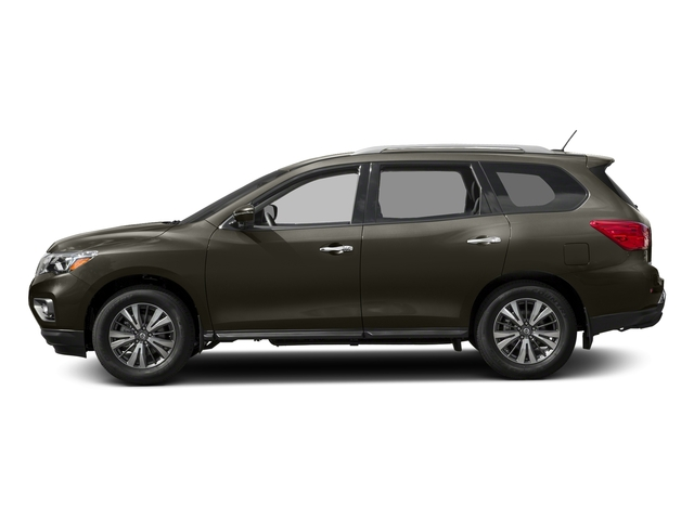 Midnight Jade Metallic 2017 Nissan Pathfinder Pictures Pathfinder Utility 4D SL 2WD V6 photos side view