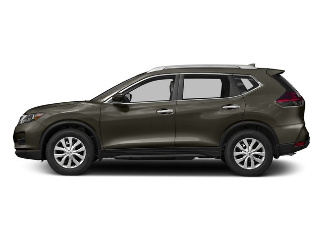 Midnight Jade 2017 Nissan Rogue Pictures Rogue Utility 4D S 2WD I4 photos side view