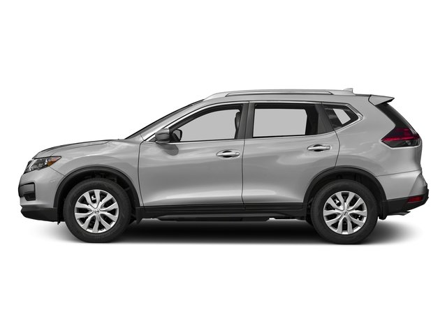 Brilliant Silver 2017 Nissan Rogue Pictures Rogue Utility 4D S 2WD I4 photos side view