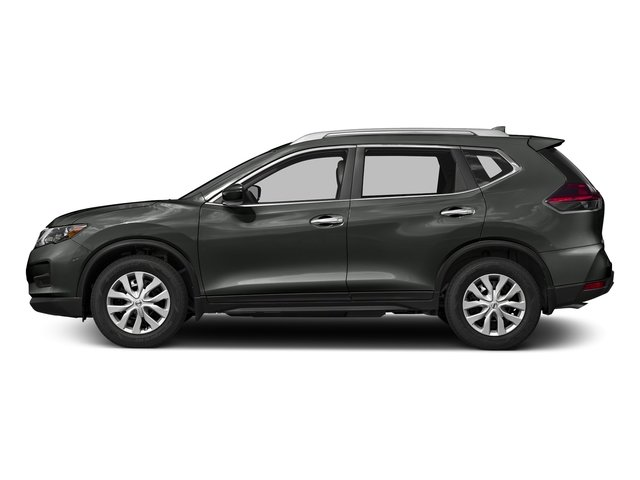Gun Metallic 2017 Nissan Rogue Pictures Rogue Utility 4D S 2WD I4 photos side view
