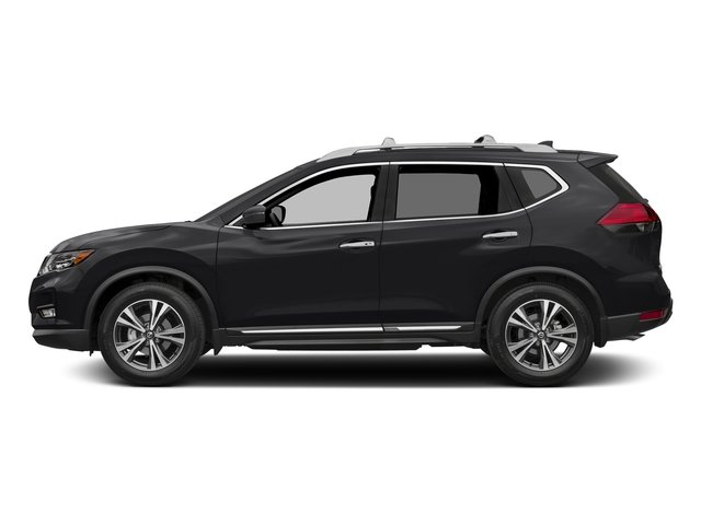 Magnetic Black 2017 Nissan Rogue Pictures Rogue Utility 4D SL AWD I4 photos side view