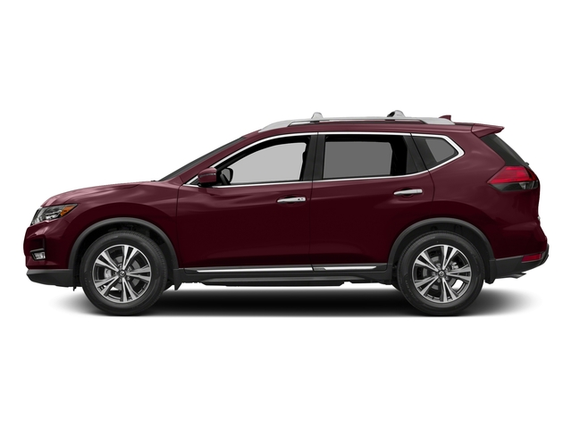 Palatial Ruby 2017 Nissan Rogue Pictures Rogue Utility 4D SL AWD I4 photos side view