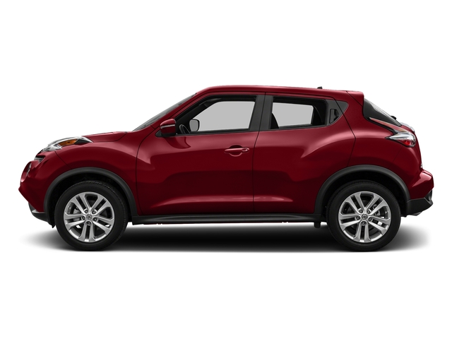 Cayenne Red 2017 Nissan JUKE Pictures JUKE Utility 4D S 2WD I4 Turbo photos side view