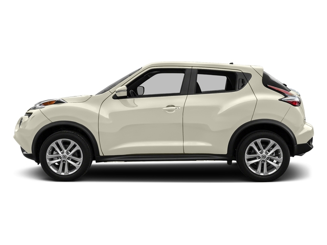 Pearl White 2017 Nissan JUKE Pictures JUKE Utility 4D S 2WD I4 Turbo photos side view