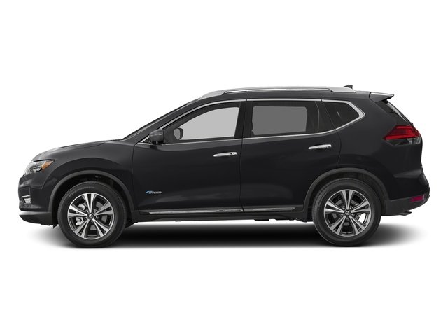 Magnetic Black 2017 Nissan Rogue Pictures Rogue Utility 4D SL 2WD I4 Hybrid photos side view