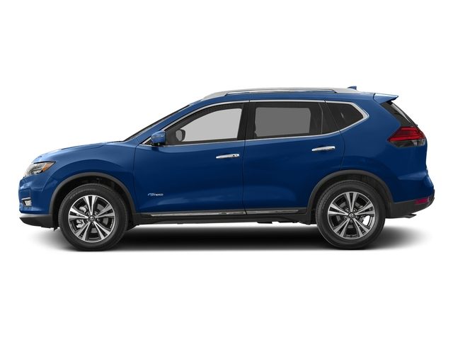 Caspian Blue 2017 Nissan Rogue Pictures Rogue Utility 4D SL 2WD I4 Hybrid photos side view
