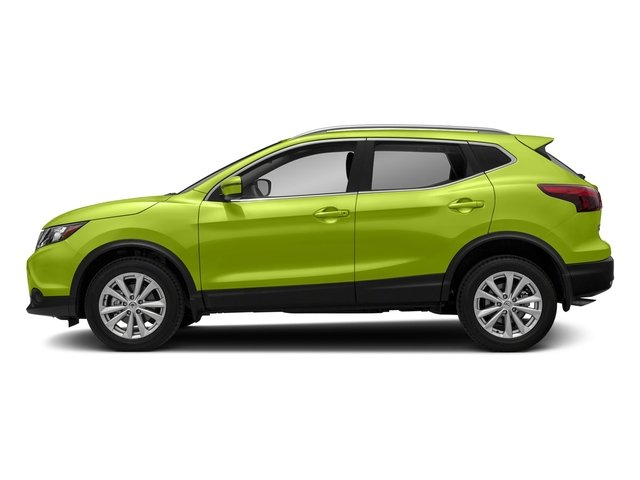 Nitro Lime 2017 Nissan Rogue Sport Pictures Rogue Sport Utility 4D SV AWD photos side view
