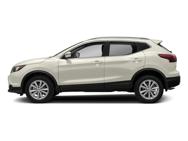 Glacier White 2017 Nissan Rogue Sport Pictures Rogue Sport Utility 4D S AWD photos side view