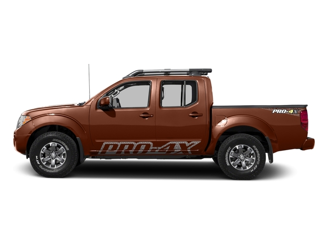 Forged Copper 2017 Nissan Frontier Pictures Frontier Crew Cab PRO-4X 4WD photos side view