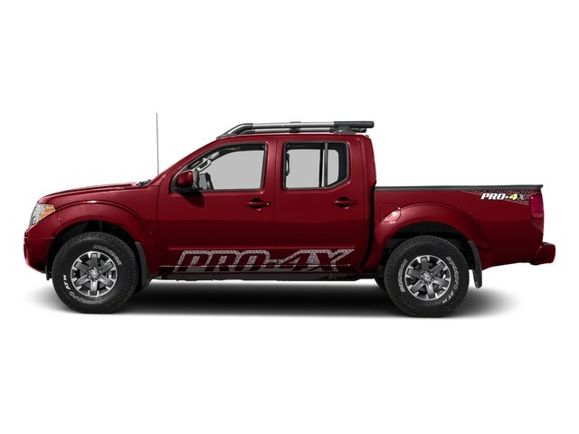 Lava Red 2017 Nissan Frontier Pictures Frontier Crew Cab PRO-4X 4WD photos side view