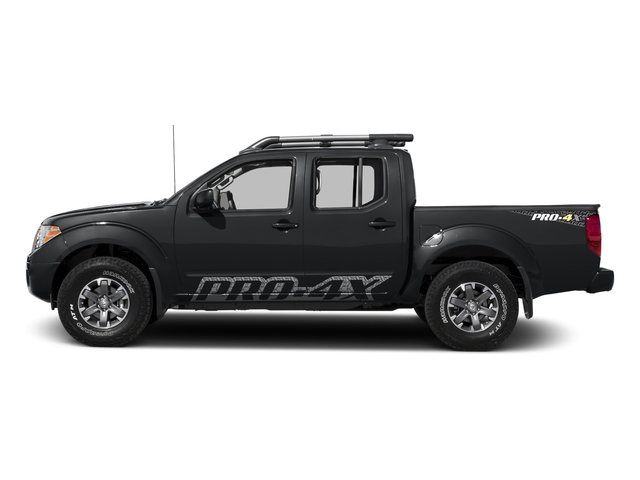 Magnetic Black 2017 Nissan Frontier Pictures Frontier Crew Cab PRO-4X 4WD photos side view