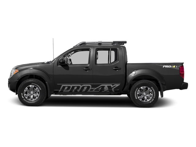 Gun Metallic 2017 Nissan Frontier Pictures Frontier Crew Cab PRO-4X 4WD photos side view